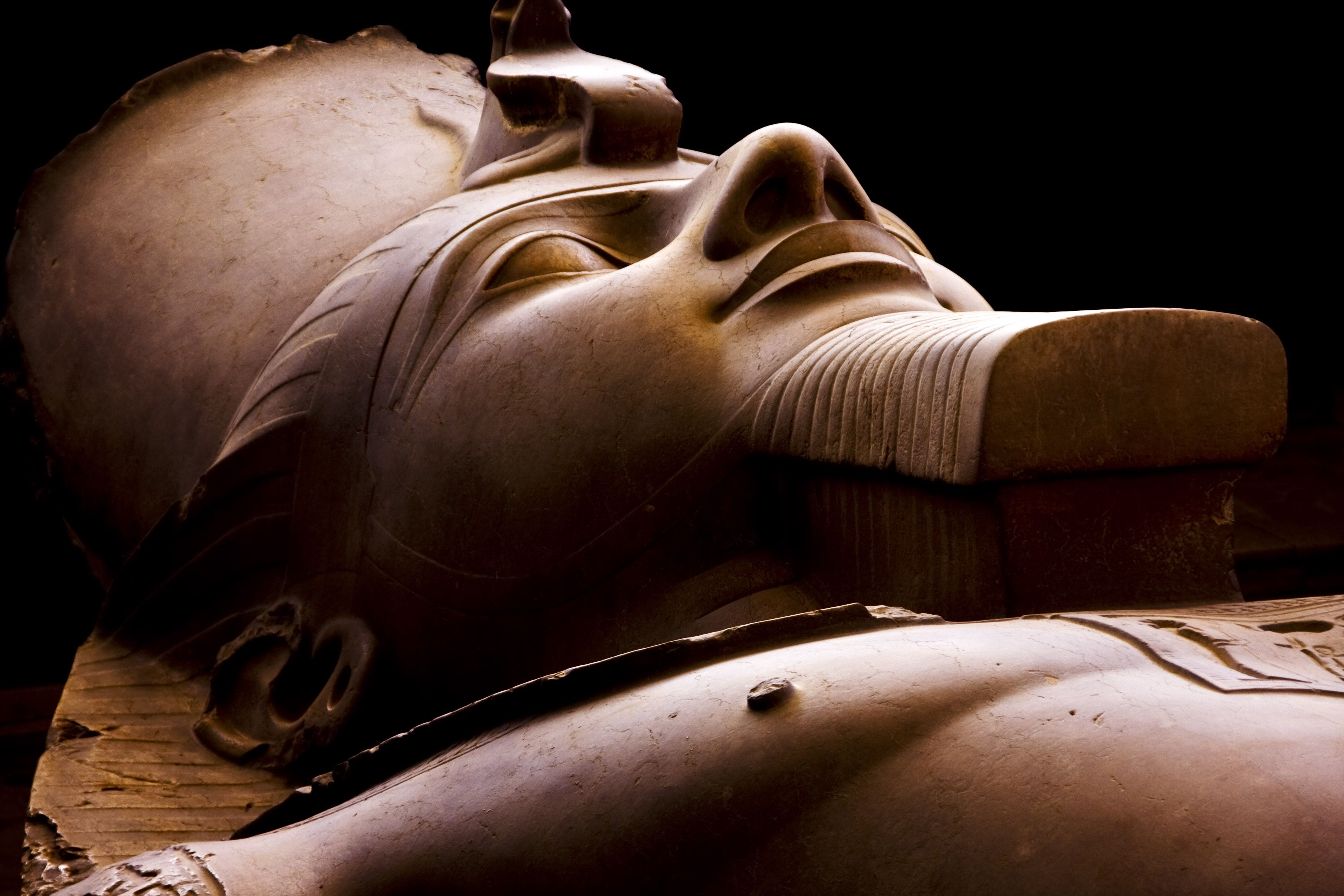 Statue Of Ramses II At Memphis Museum Egypt Ramesses II - Map of egypt during ramses