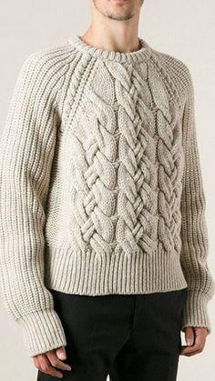 Узор для мужского свитера