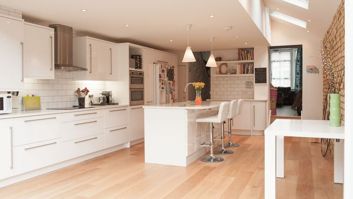 A Beautiful Kitchen Extension Side Return From