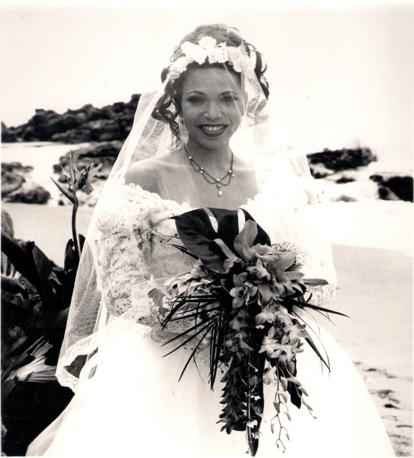 wedding dress ebay Publicity Photo Martin Tisha Campbell Wearing Wedding Dress eBay