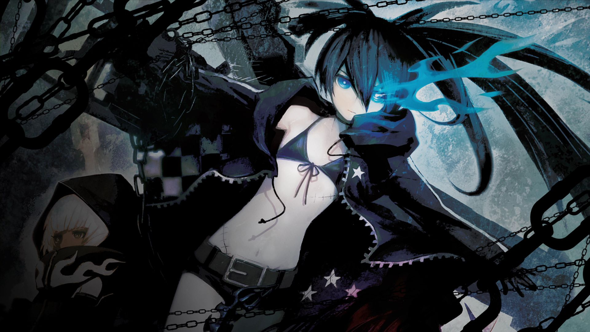 Black Rock Shooter Wallpaper Zerochan Anime Image Board