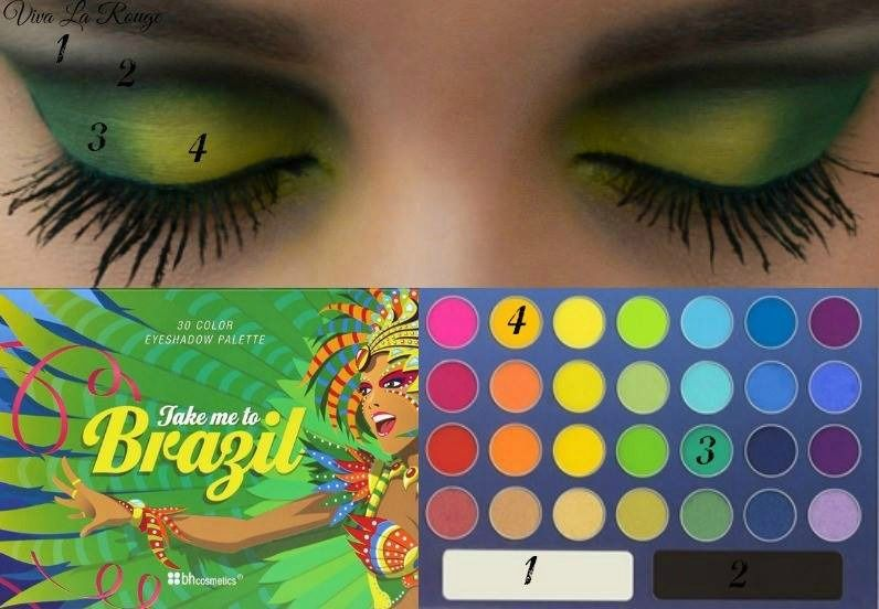 BH Cosmetics' Take Me to Brazil Palette :)