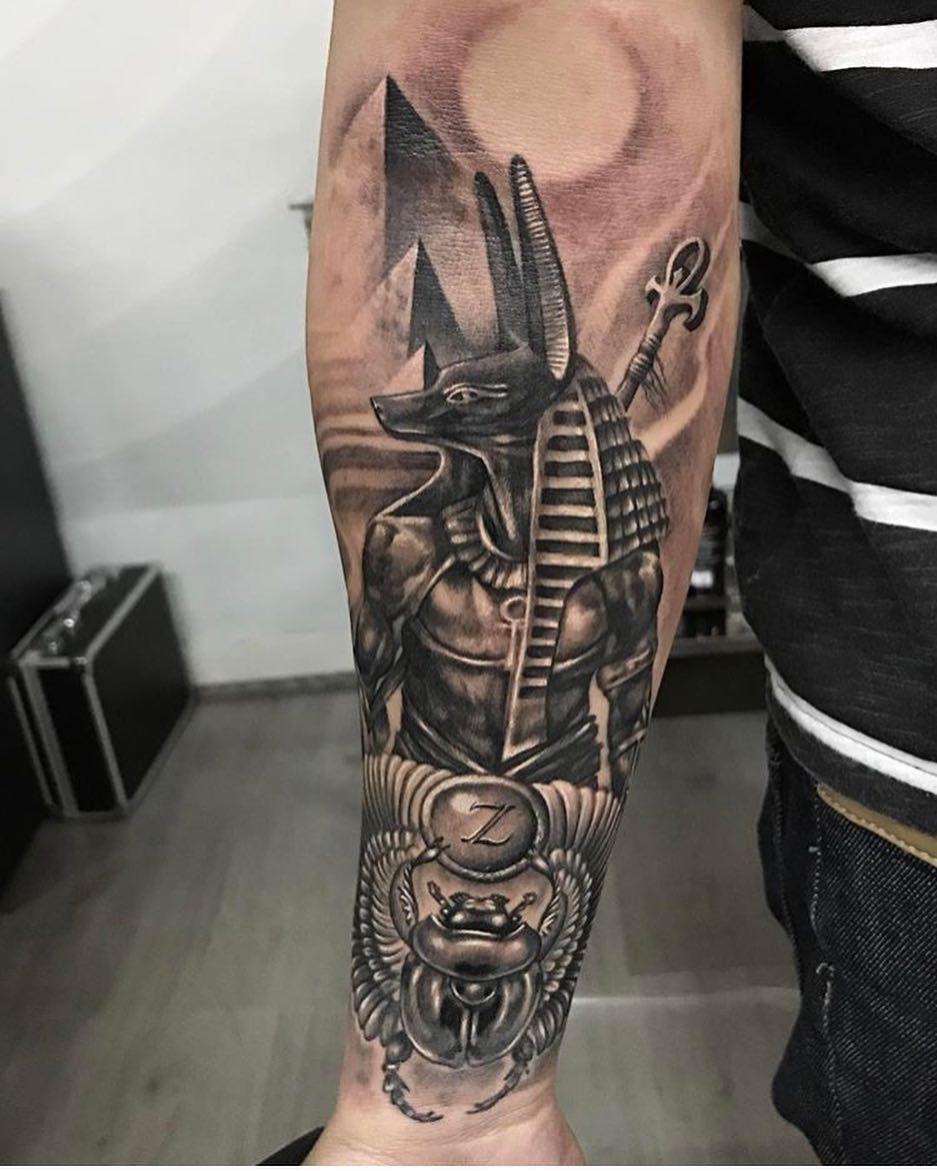 Anubis Tattoo 83 | Favorite | Pinterest | Anubis tattoo, Tattoo and ...
