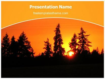 get this free sunrise powerpoint template with different slides