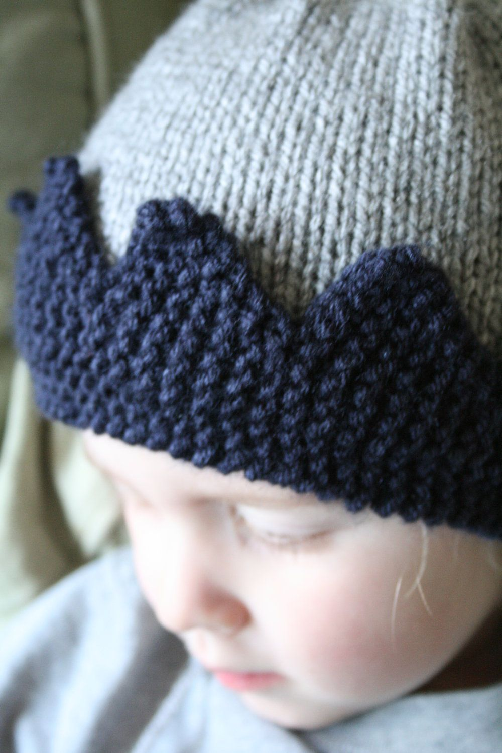e9df7d13055 The Royal - Custom knit crown hat
