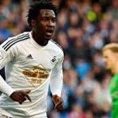 Situs Online Bandar Judi Bola – Manchester City telah resmi mendatangkan penyerang Swansea City, Wilfried Bony dan mengikat sang pemain dengan durasi kontrak selama 4,5 tahun di Etihad Stadium.