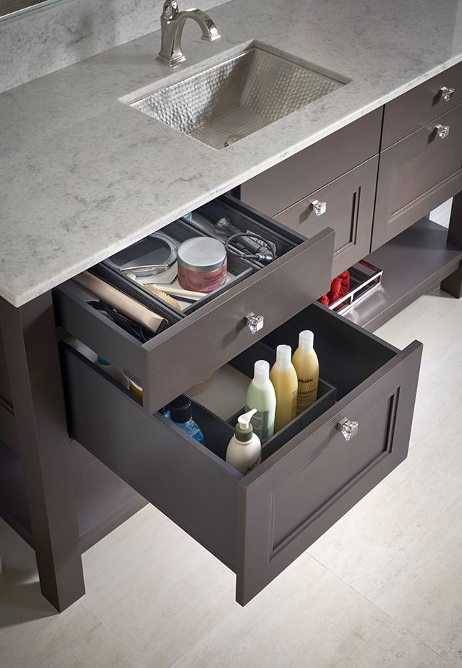 Westchester Vanity By Woodmode Wood Mode Custom Cabinetry Kitchen And Bath Design