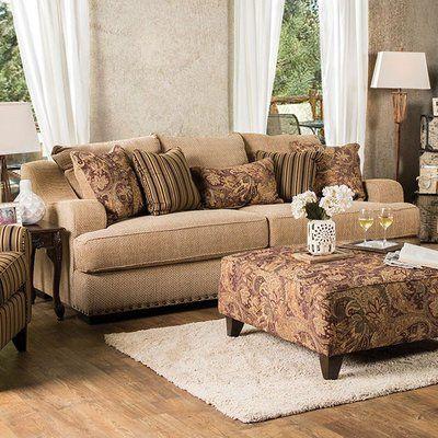 Fleur De Lis Living Stein Sofa Furniture Of America Upholstered