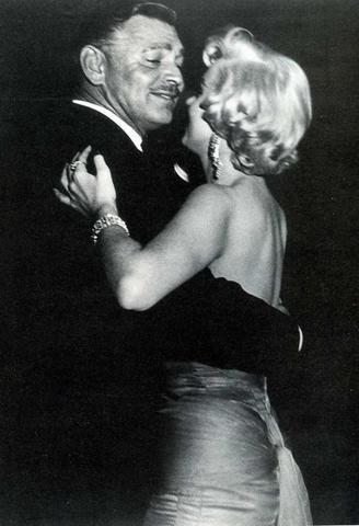 Marilyn Dancing with Clark Gable...The Golden Age of Hollywood Taking A Spin...Beautiful!!...WOOOOOW!!