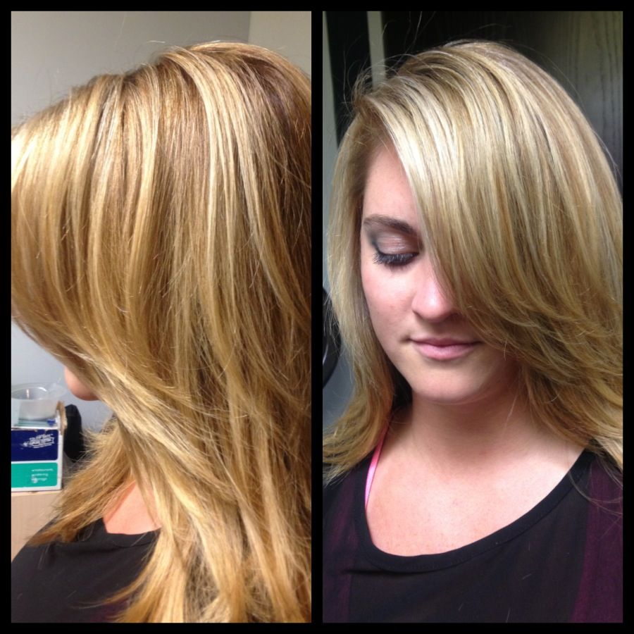 Steal Jessica Simpson S Pretty Half Up Wedding Hairstyle: #balayage #highlights #blonde, Long Layers