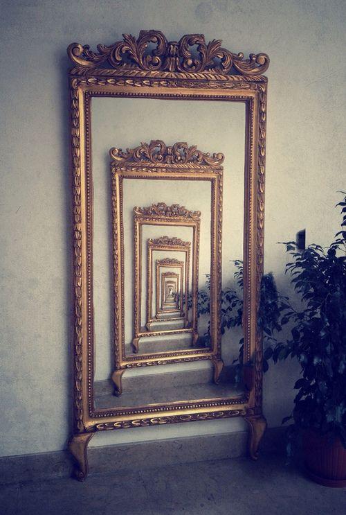 Mirror Photography Mirror Art Infinity Mirror