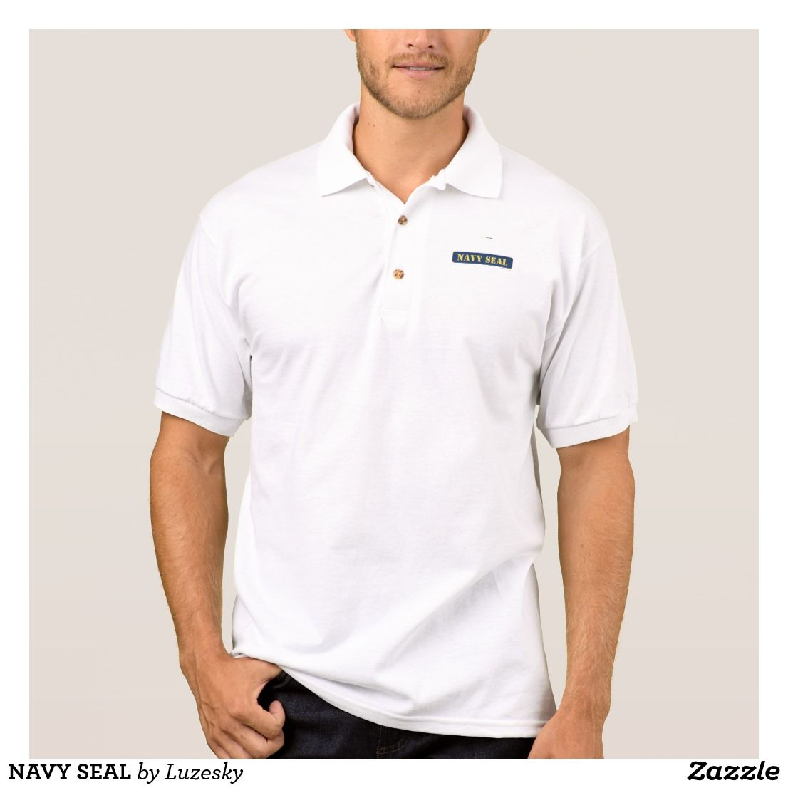 NAVY SEAL POLO SHIRT | Lykens-Luzesky T-shirts - Promote for