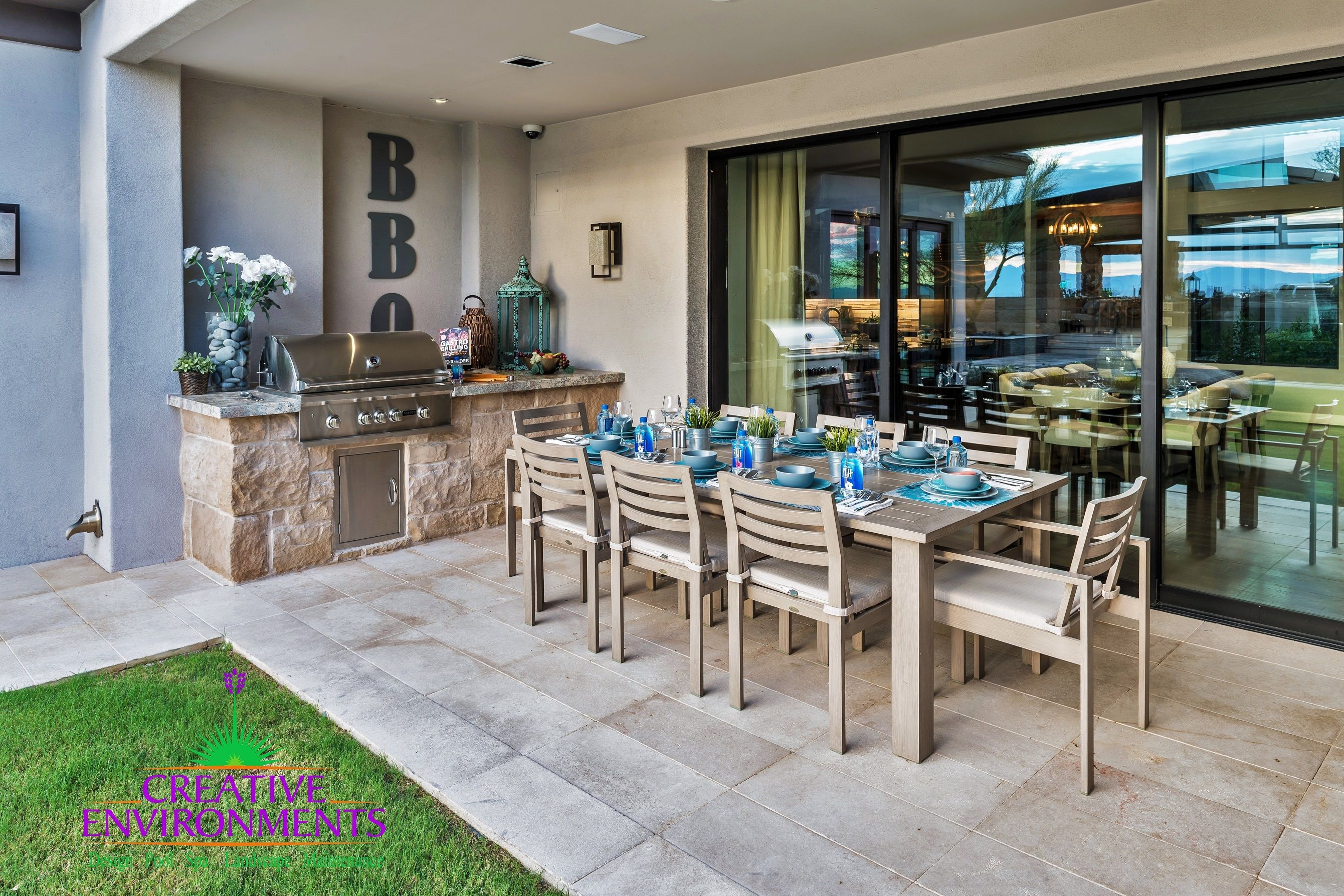 Pin by Creative Environments on Talon Ranch | Custom pools ... on Outdoor Living Space Company id=24738