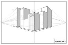 Perspective Drawings Of Buildings this is another 2 point perspective drawing of some buildings and