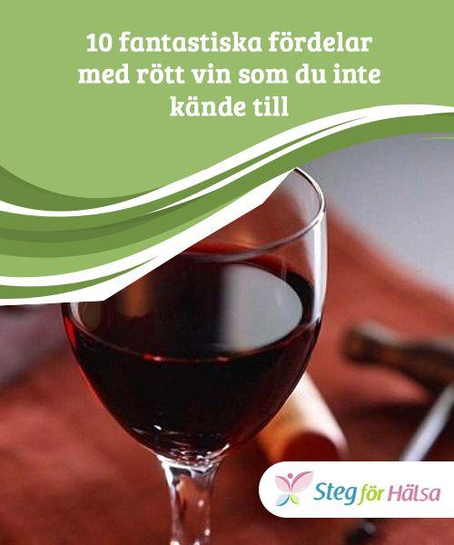 rött vin bra för hälsan