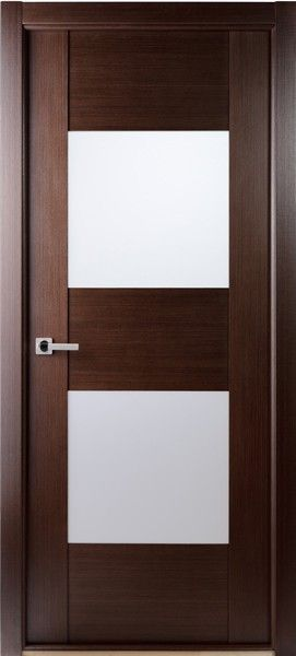 Contemporary African Wenge Interior Single Door With Frosted Glass    Contemporary   Interior Doors   Tampa   By US Door U0026 More Inc
