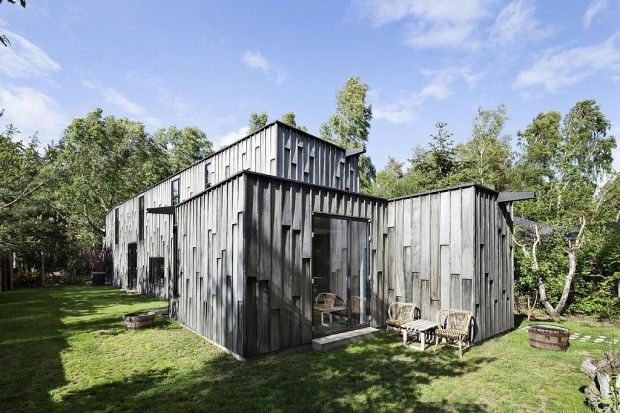 Forest House par Primus Arkitekter Forest house, Architecture and