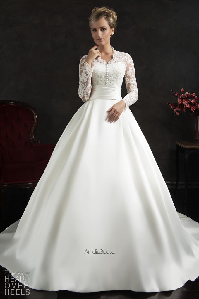 Amelia Sposa 2015 Wedding Dresses Heart Over Heels ...