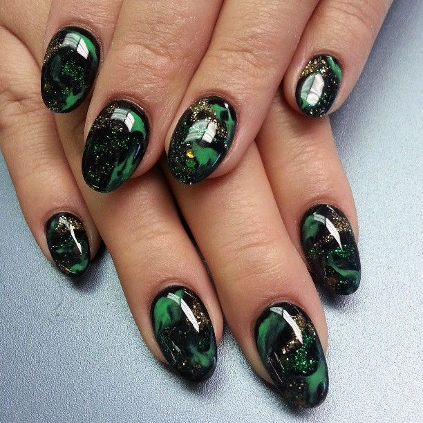 Ink361 The Online Instagram Web Viewer Gel Nail Art Designs Green Nails Gel Nail Art