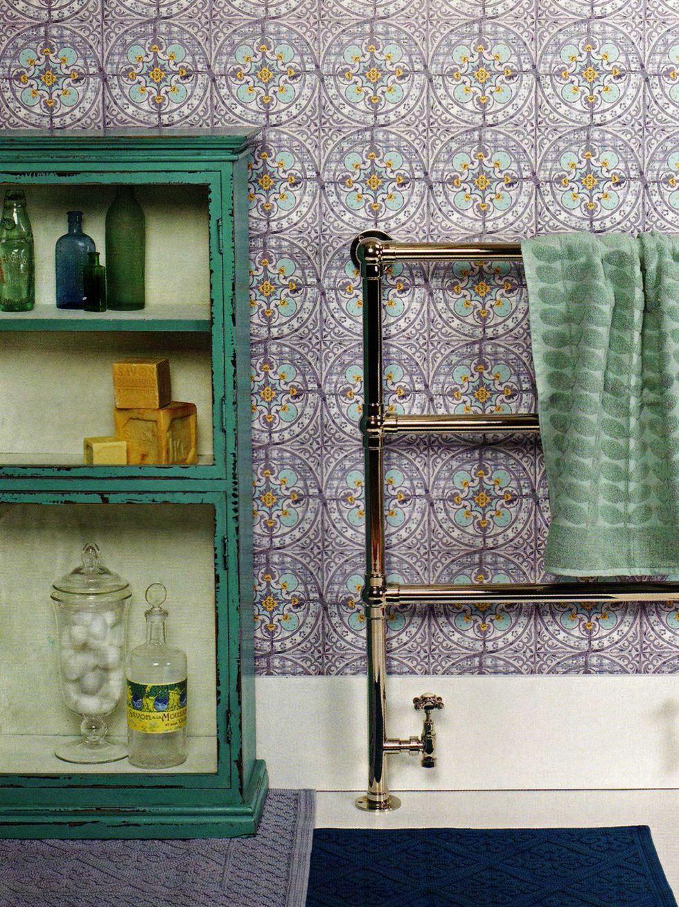 Bathroom Tile Wallpaper