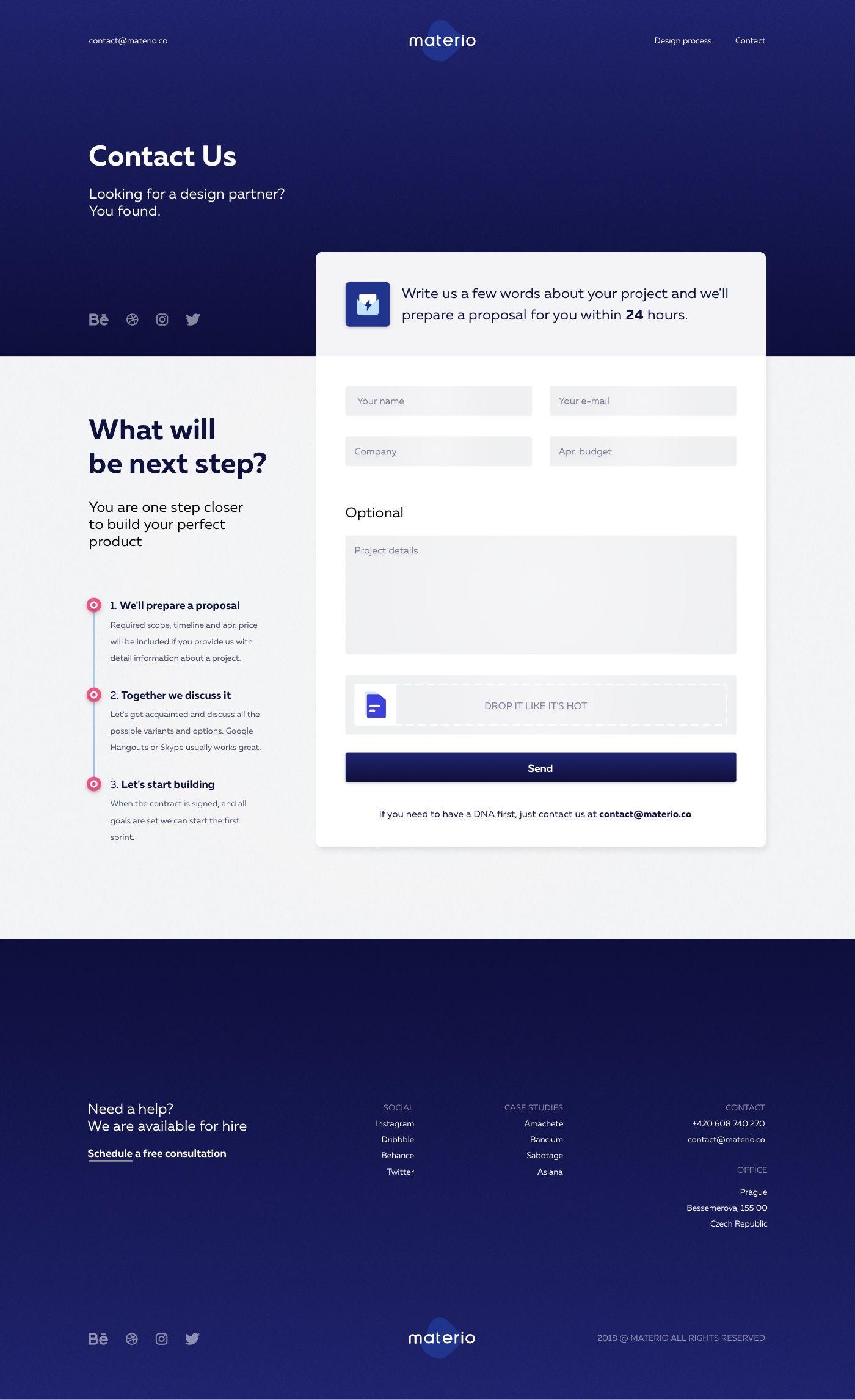 Contact Contact Us Page Design Simple Web Design Web Design