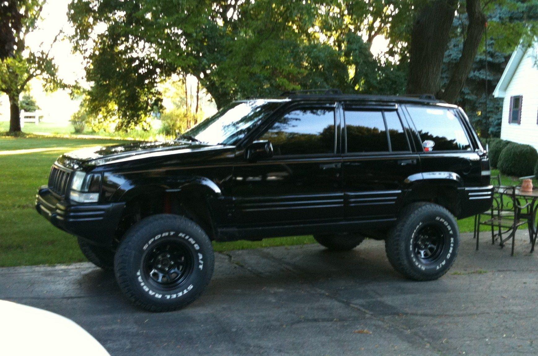 jeep cherokee limited custom black 1997 - Pesquisa Google