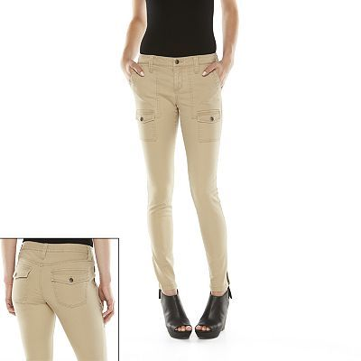 So® Skinny Cargo Pants - Juniors