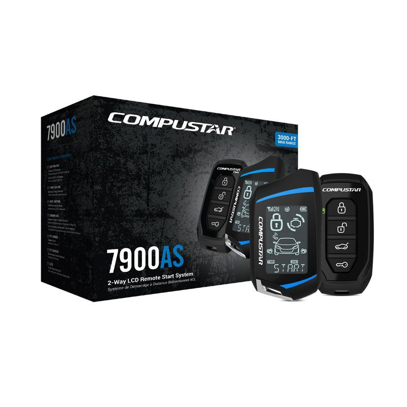 Cs7900as 2way remote start security bundle