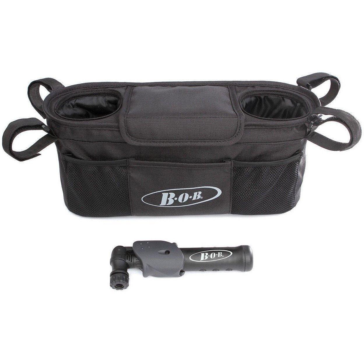 BOB Single Stroller Handlebar Console with Pump Accessory