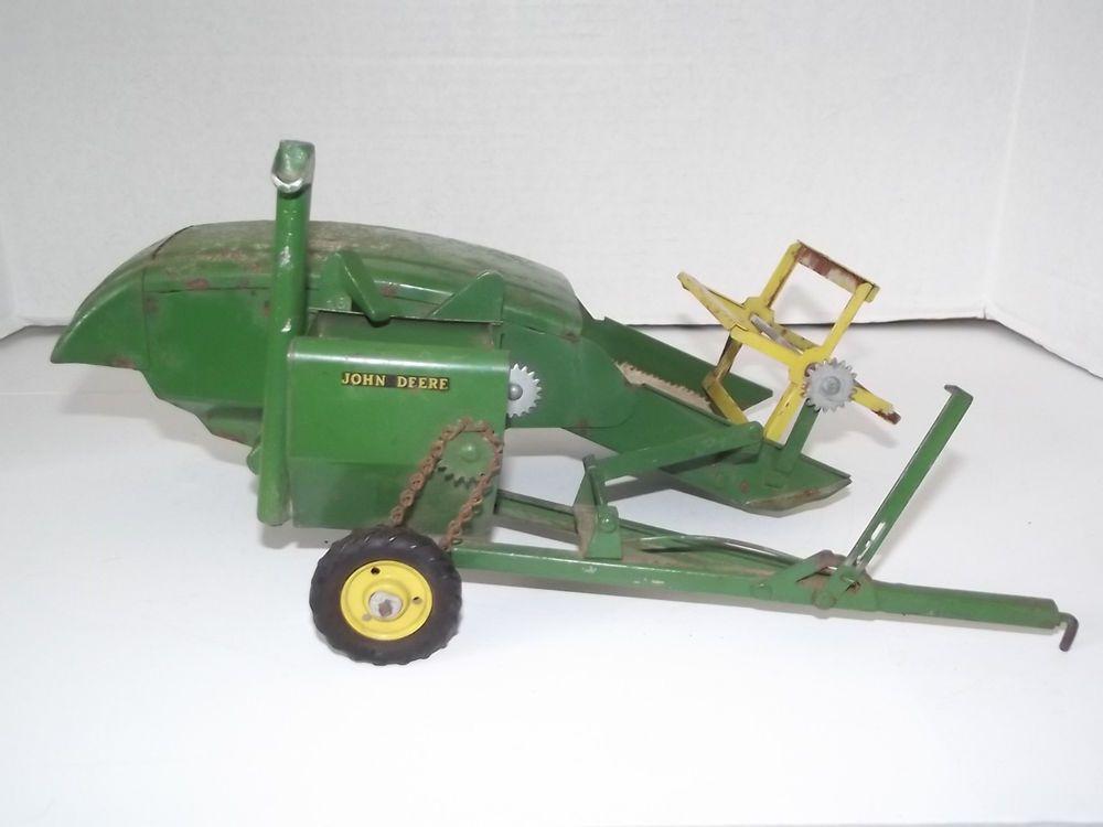 Vintage Toy Trucks Part - 30: Vintage 1948 -1955 ESKA Ertl John Deere 12A Combine Conveyor Farm Implement  Toy