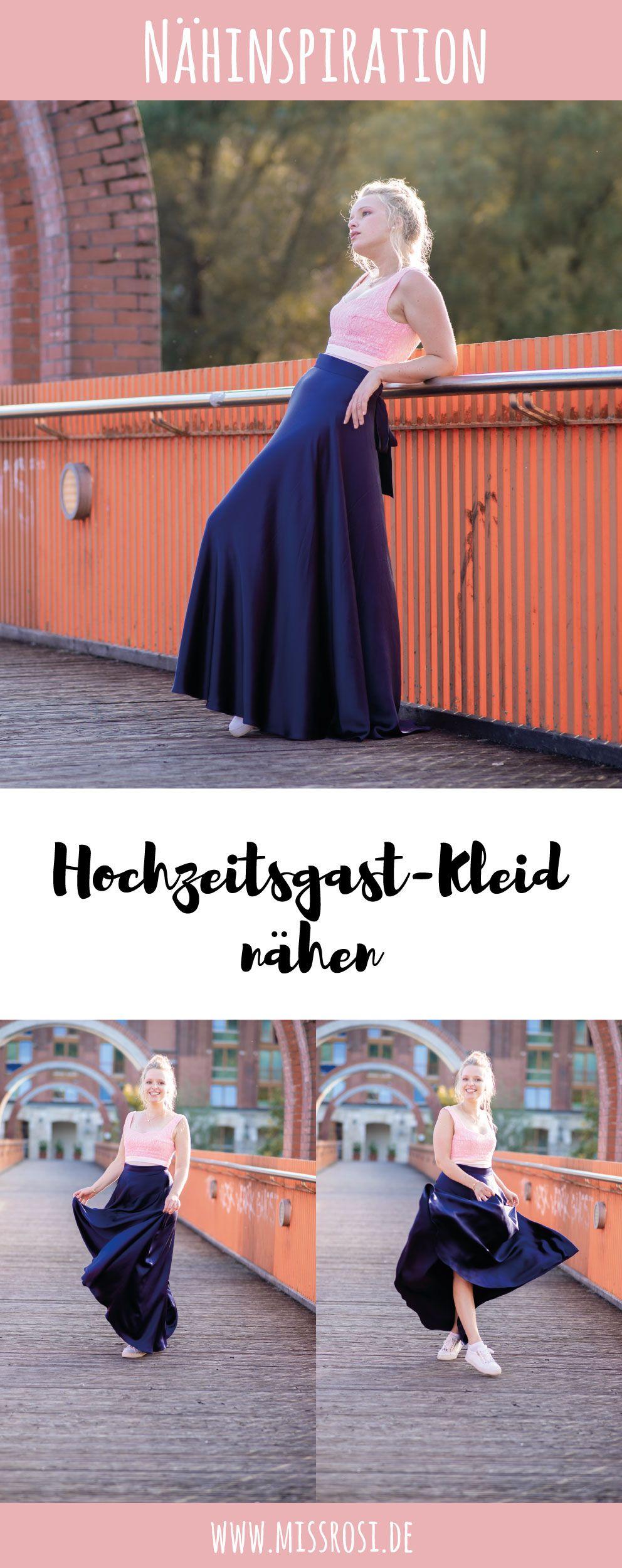 Inspiration für ein Hochzeitsgast Outfit nähen - Miss Rosi #sommerkleidselbernähen