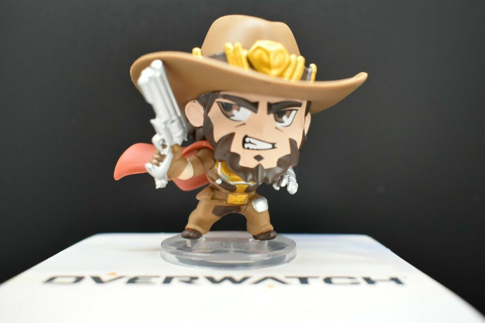 OVERWATCH MCCREE CUTE BUT DEADLY SERIES 3 BLIZZARD FIGURE
