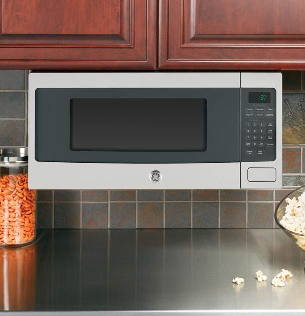 Built In Microwave Features From Ge Appliances Countertop Microwave Countertop Microwave Oven Mounted Microwave