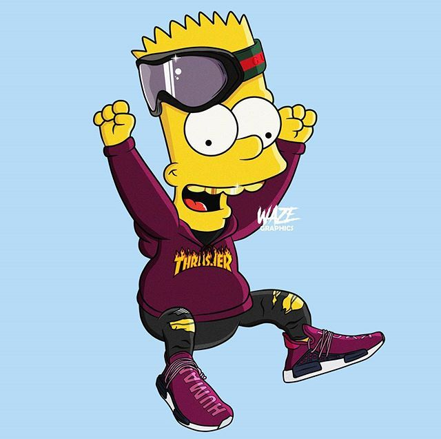 Pinterest ADC Bart simpson art, Bape wallpapers