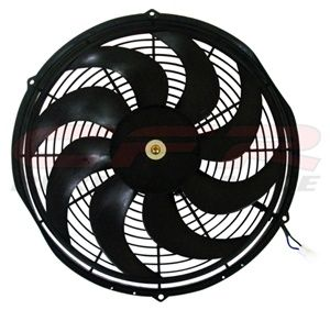 14 High Performance Electric Radiator Cooling Fan Curved Blade