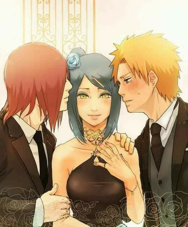 Nagato, Konan and Yahiko ♥♥♥ Team Jiraiya ♥ #Akatsuki #strong #Love #Amegakure #Pain #suffering