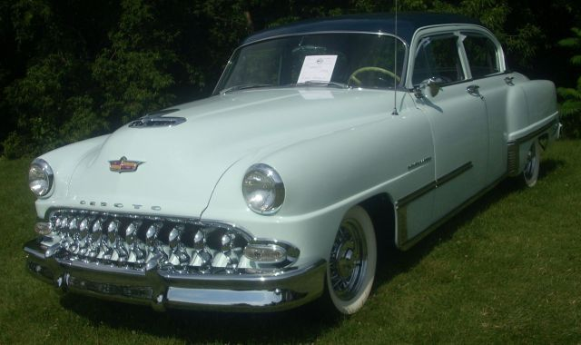 1953 DeSoto Powermaster photographed in Laval, Quebec