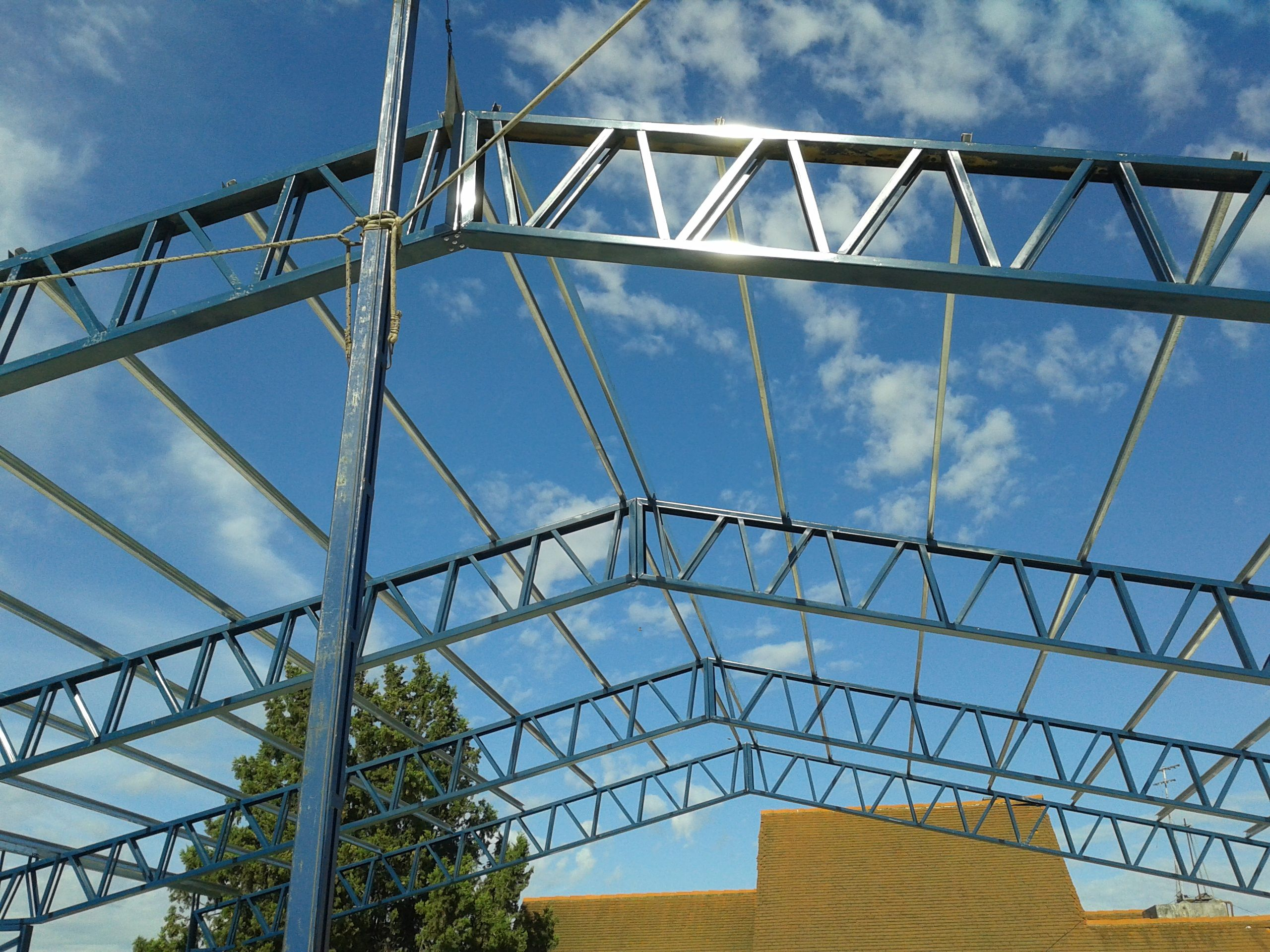 Estructura met lica - Estructura metalicas para casas ...