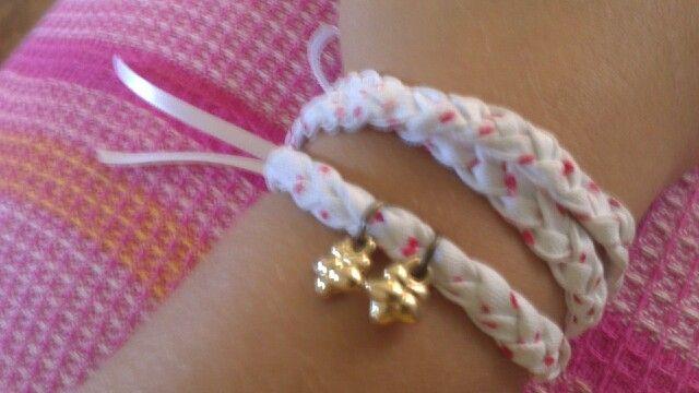 Bracelete de tecido