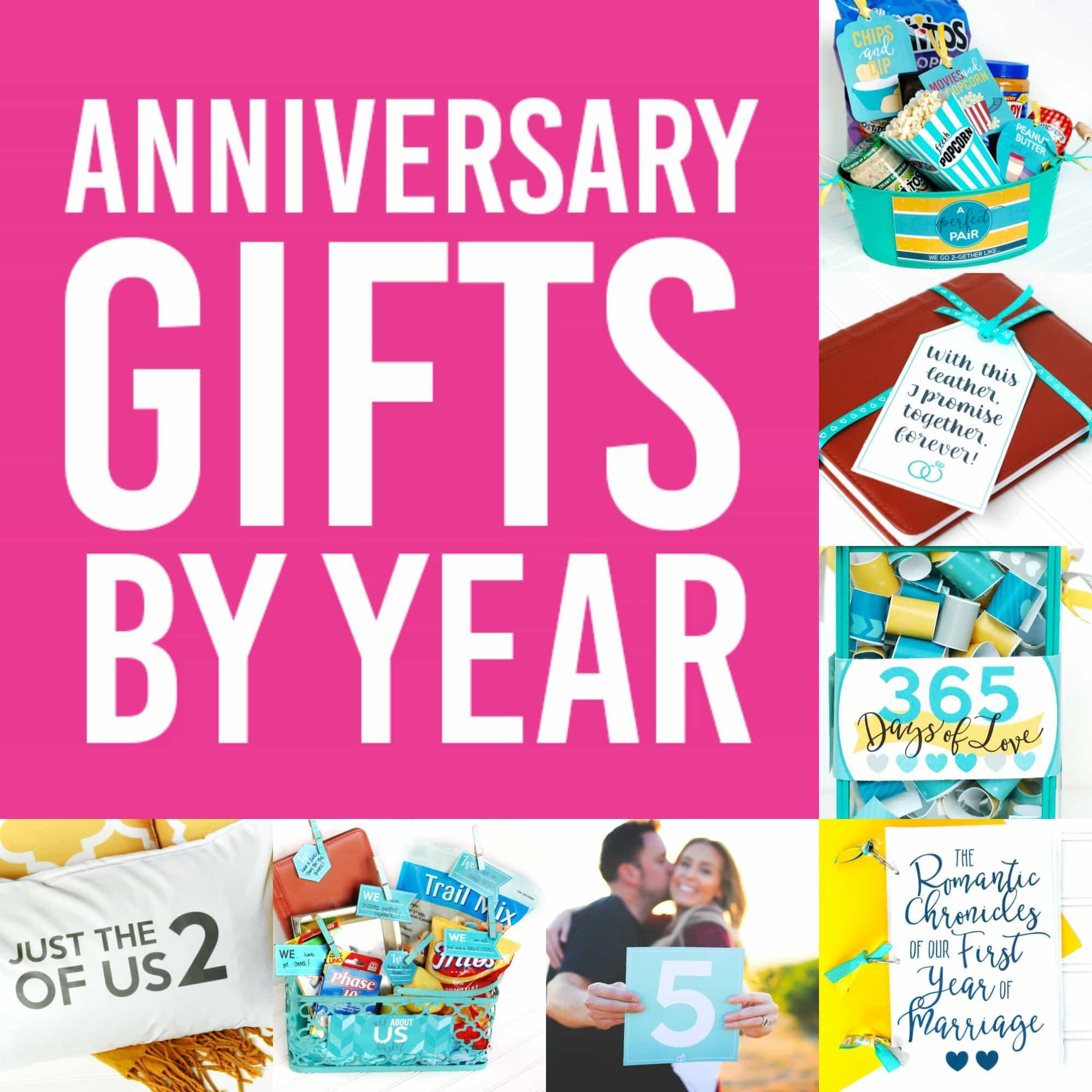 4th Wedding Anniversary Gift Ideas: Anniversary Gifts By Year For Spouses - From