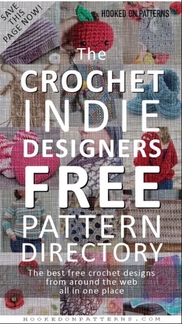 Photo of The Crochet Indie Designers Free Pattern Directory