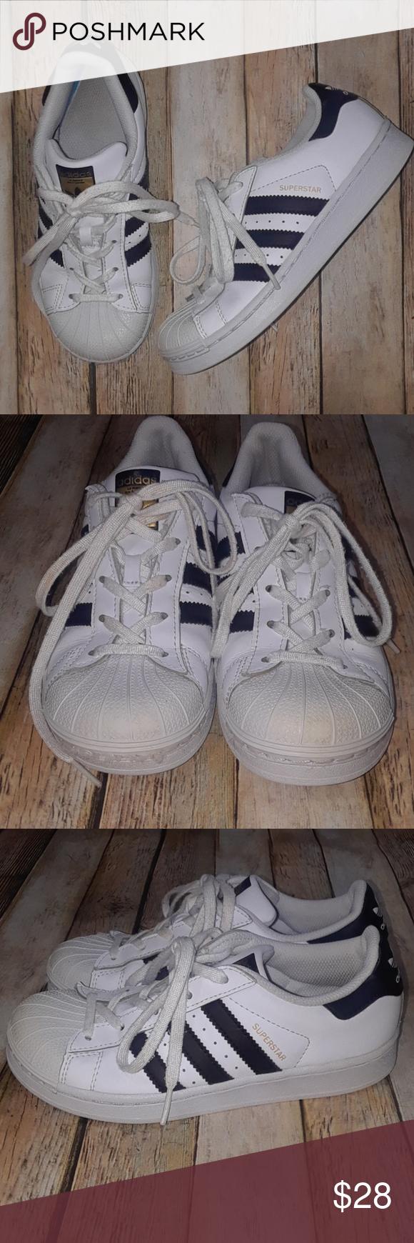 Adidas Superstar Black Stripe Shell