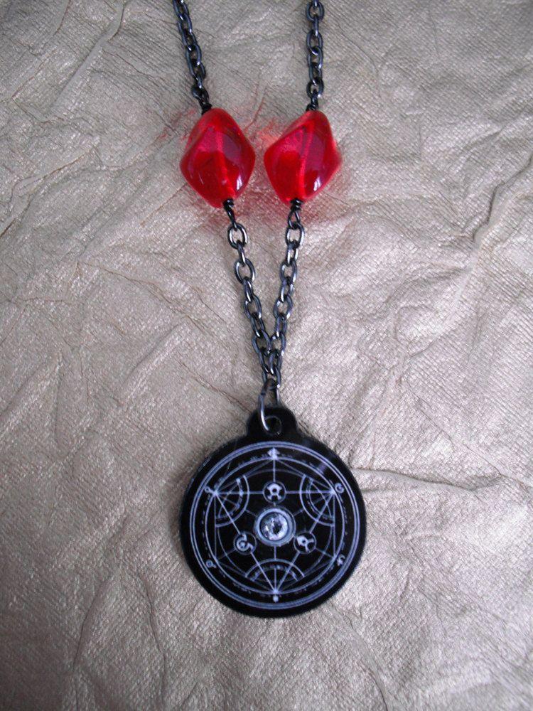 Fullmetal Alchemist Philosopher's Stone Necklace | Jewelry ...
