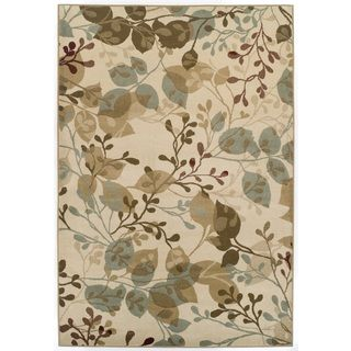 Easton Collection Ivory Delight Area Rug Overstock Com Shopping