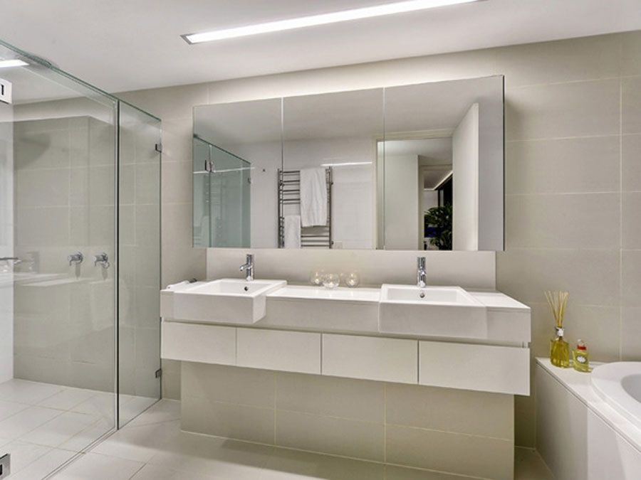 Large Bathroom Mirror BIGArchitects Pinned By Modlar