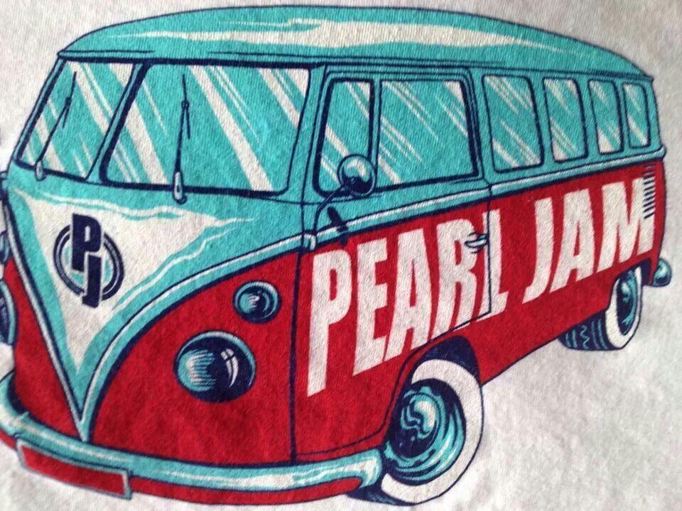 Pearl Jam VW van