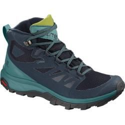 Photo of Salomon Women's Shoes Outline Mid Gtx® W Na, Size 41? in Navy Blazer / Hydro. / Guacamole, size 41? i