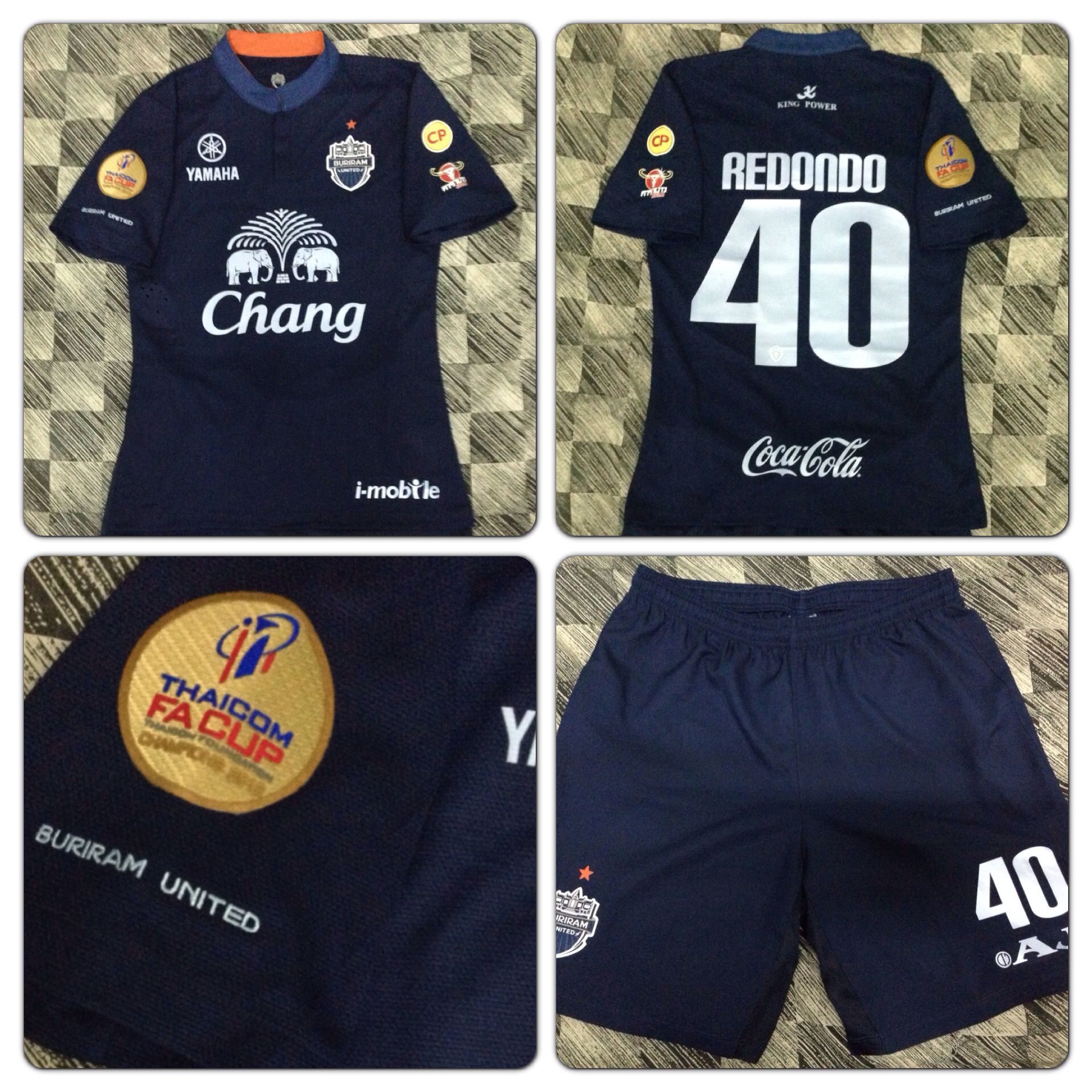 Buriram United Player Issue Home Kit Football Jerseys 8a899f057
