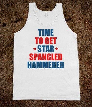 Star Spangled Hammered - Greek - Skreened T-shirts, Organic Shirts, Hoodies, Kids Tees, Baby One-Pieces and Tote Bags
