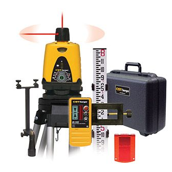 Get more done in less time  Rent the Laser Level Kit today